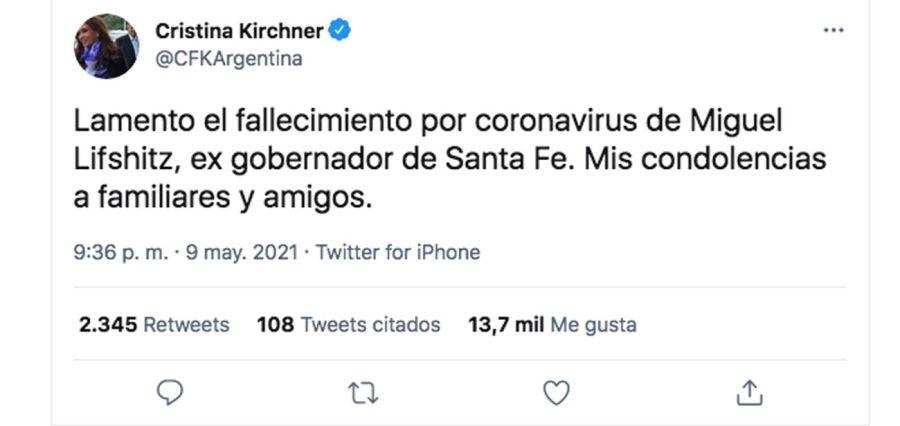 Despedida de políticos al ex gobernador Miguel Lifschitz 20210510