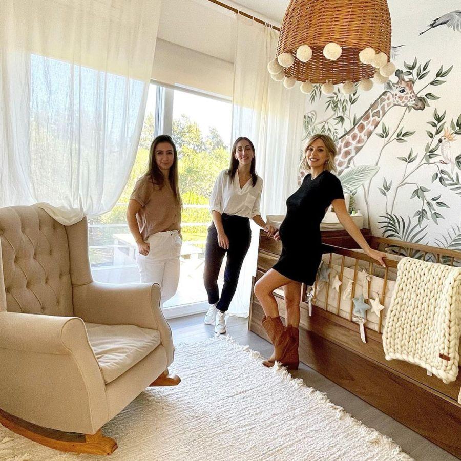 Noelia Marzol mostró la increíble decoración del dormitorio de su futuro bebé