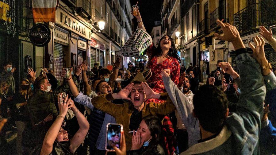 España fin de la cuarentena 20210511
