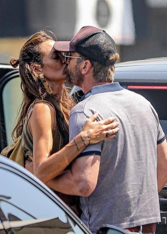 Gerard Butler y Morgan Brown, reconciliados: las fotos que los muestran a los besos