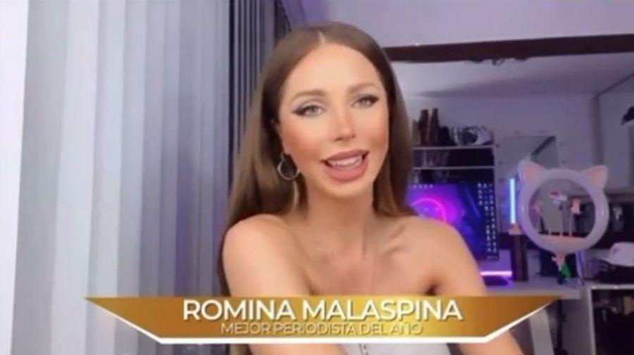 Romina Malaspina mejor periodista del año