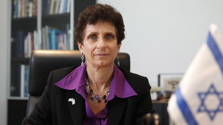 embajadora de Israel, Galit Ronen 20210512