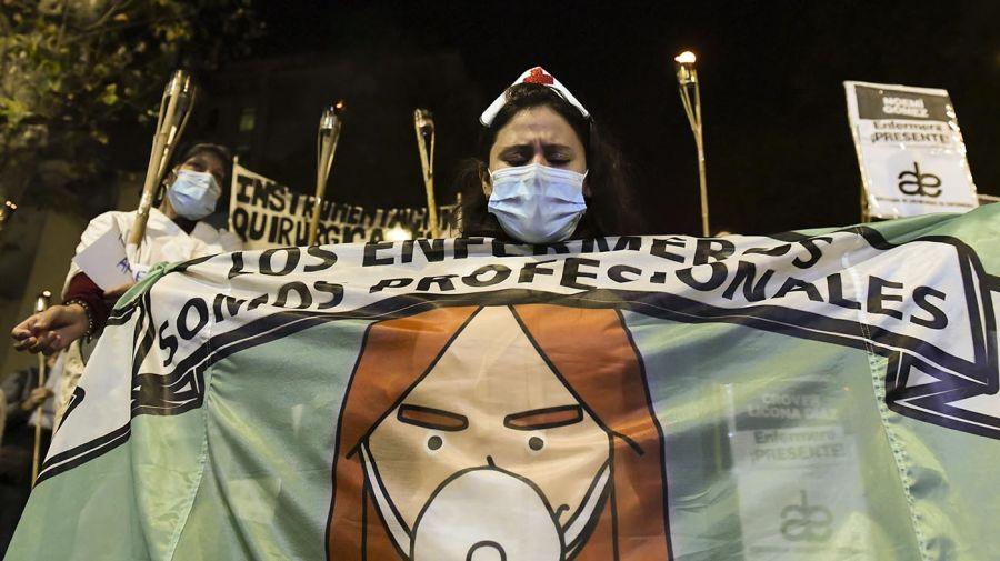 Enfermeros de la ciudad de Buenos Aires 20210512