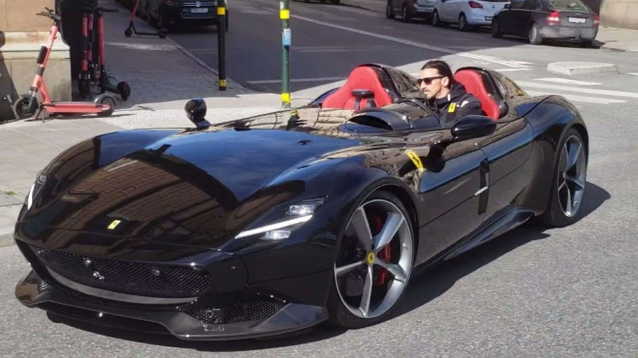 Zlatan Ibrahimovic Ferrari