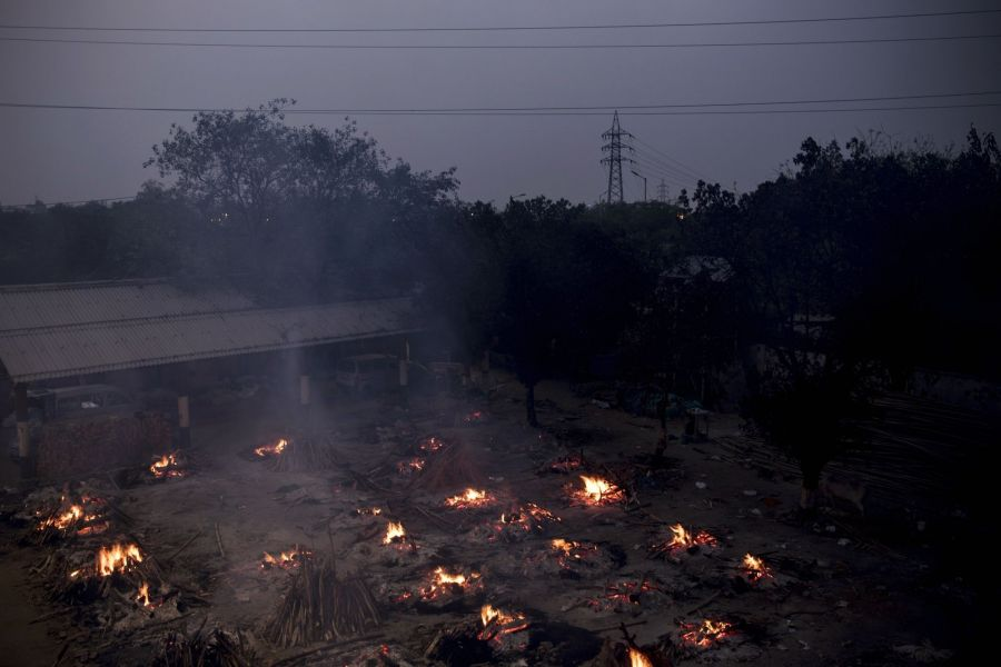 Cremation Sites as Indian Outbreak Worsens Further