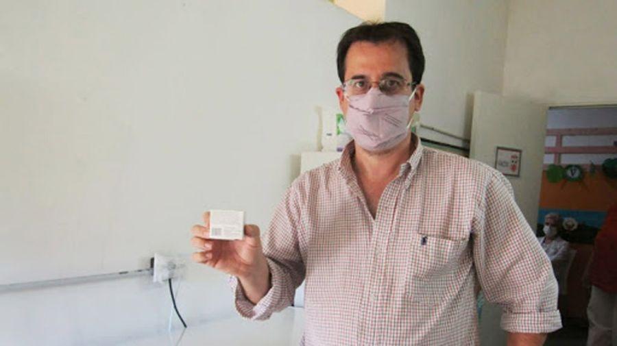 Sebastián Meneses, director del Hospital de Junín 20210513