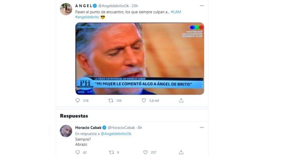Angel de Brito vs Horacio Cabak