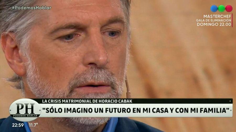 Horacio Cabak en Podemos Hablar
