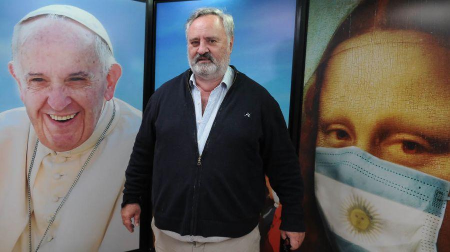Joaquín de la Torre, en la entrevista con Jorge Fontevecchia.