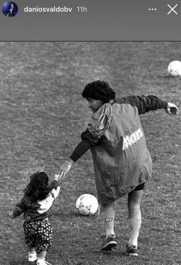 El tierno posteo que le dedicó Daniel Osvaldo a Giannina Maradona en el día de su cumpleaños