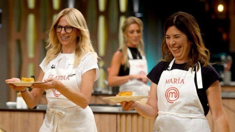 Maria O'Donnell y Claudia Fontán protagonizan un escándalo en MasterChef Celebrity 2
