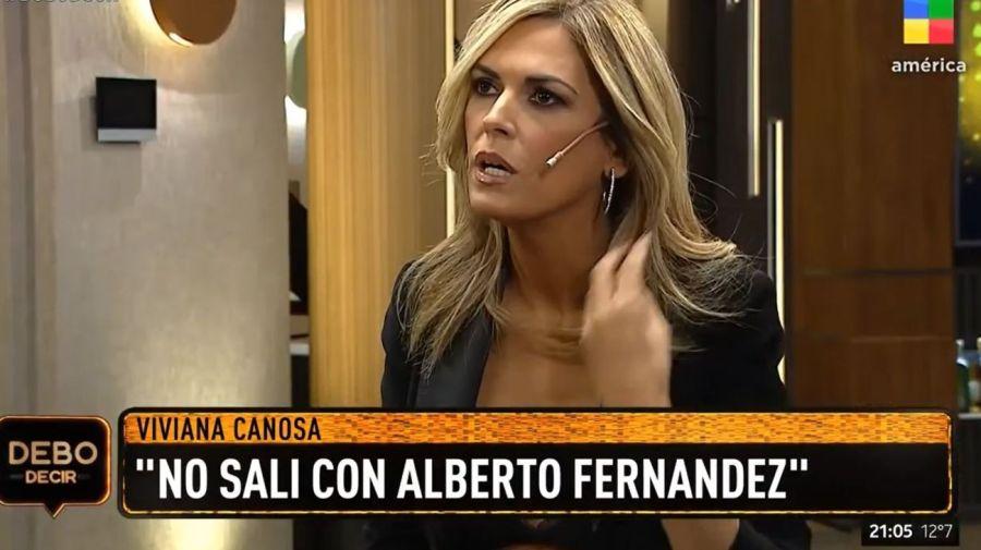 Viviana Canosa-Alberto Fernandez