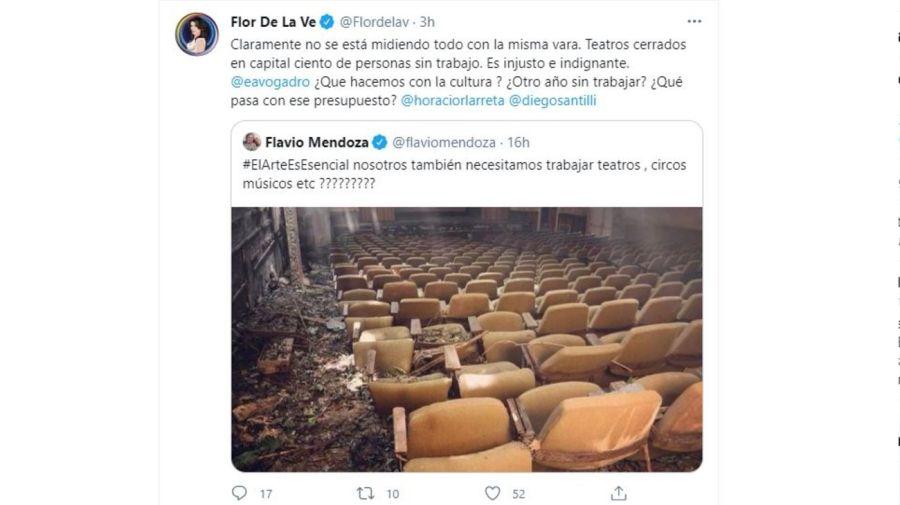 Flavio Mendoza y Florencia de la V contra Marcelo Tinelli