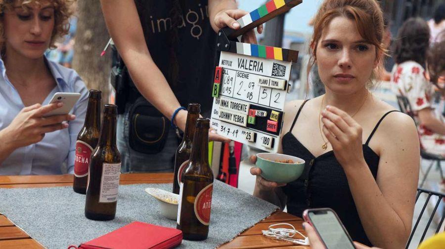 Valeria puede verse en Netflix