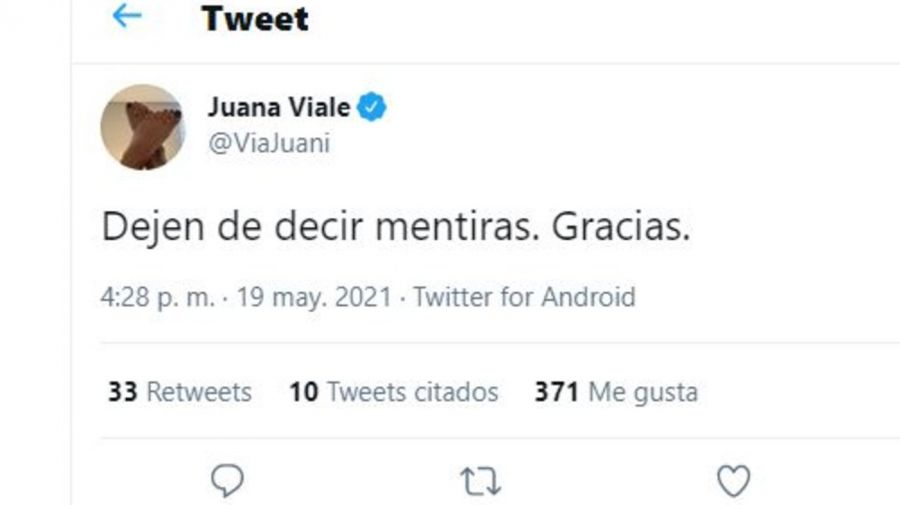 Juana Viale contra Intrusos