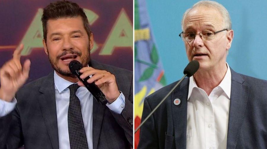 Marcelo Tinelli y Daniel Gollan