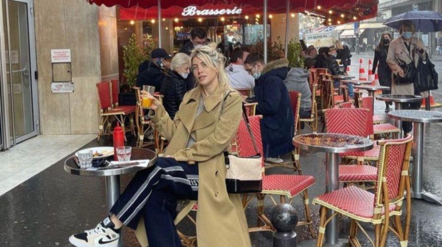 Wanda Nara tuvo un accidentado paseo en París