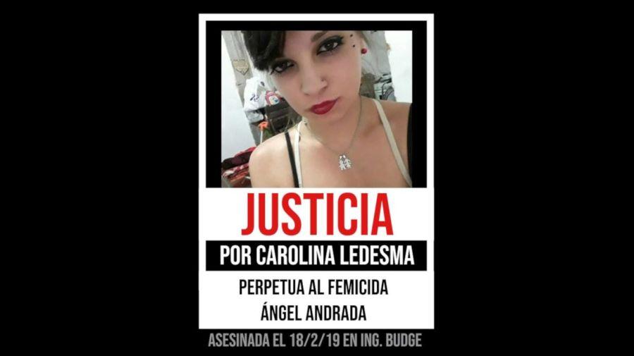 2021 05 20 Femicidio Carolina Ledesma Angel Andrada