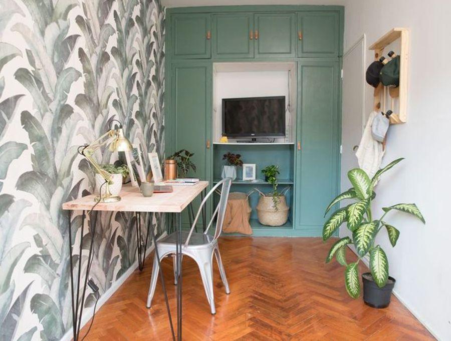 Decorar las paredes con murales es la tendencia del momento. Convierten un ambiente en un nuevo espacio sin gastar de más.