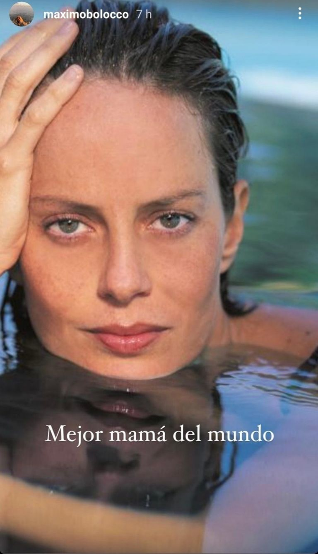 El emotivo mensaje de Máximo Menem a Cecilia Bolocco por su cumpleaños