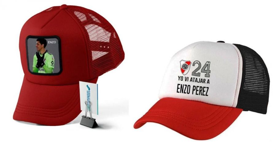 Gorritos en homenaje a Enzo Pérez