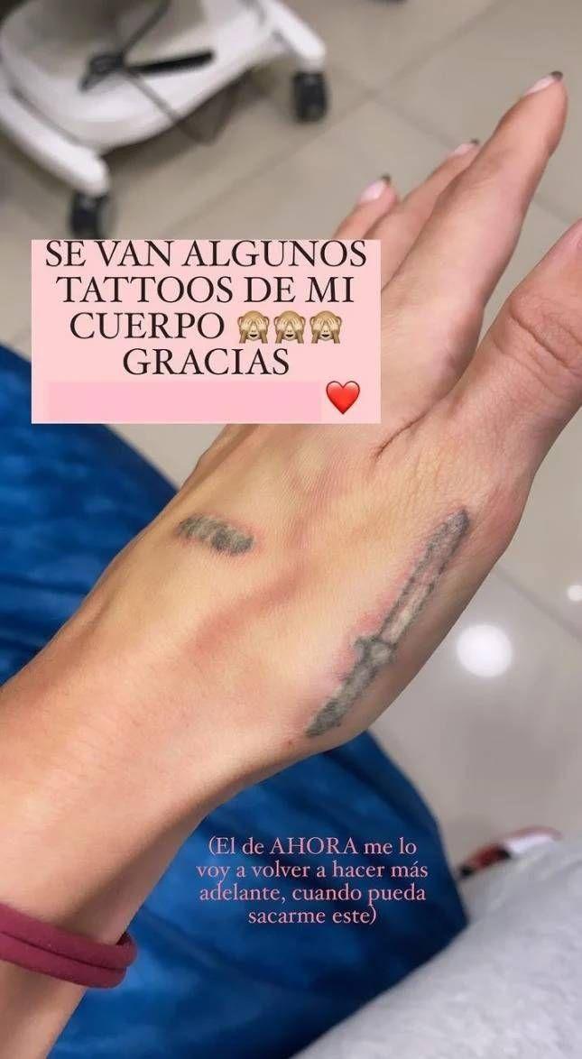 Los tatuajes de Mica Tinelli