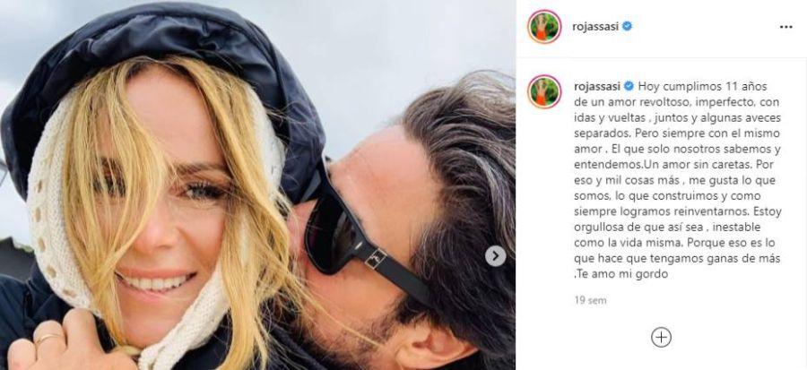 Luciano Castro y Sabrina Rojas, separados: confirman la ruptura definitiva