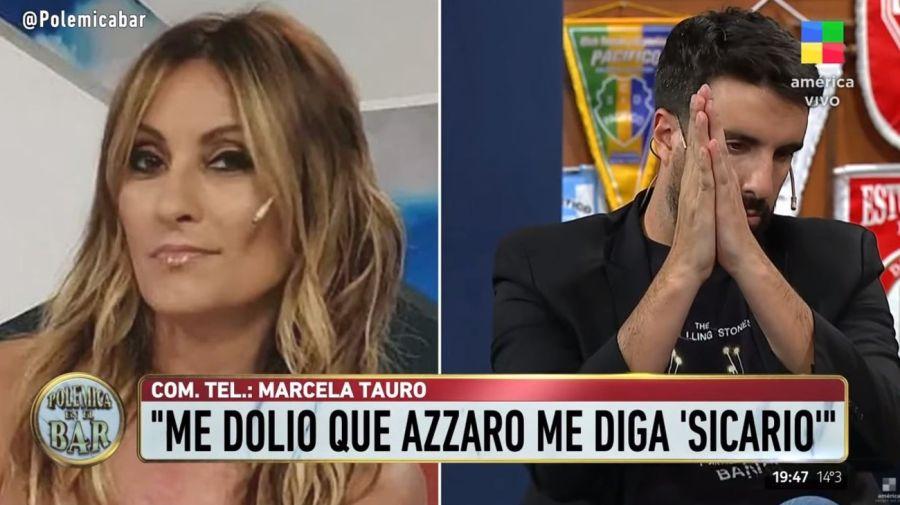 Marcela Tauro y Flavio Azzaro