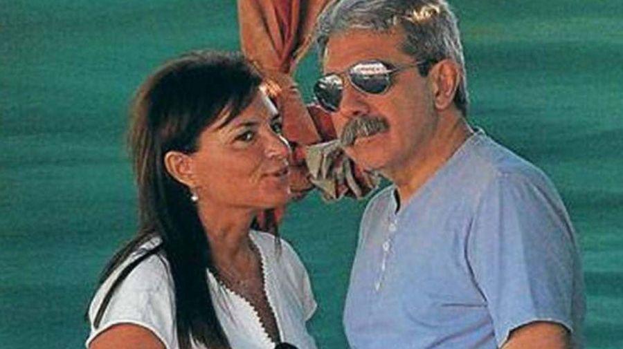Anibal Fernandez y su esposa 0521