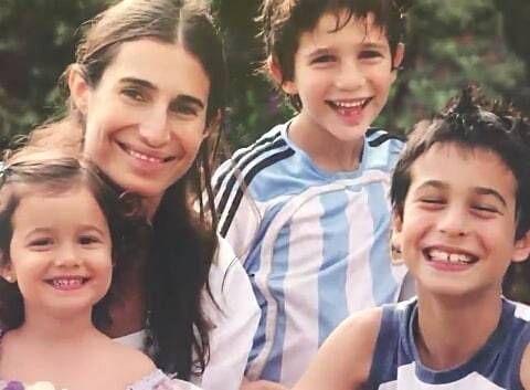 Así están hoy los hijos de Romina Yan: cómo es la vida de Franco, Valentín y Azul Giordano