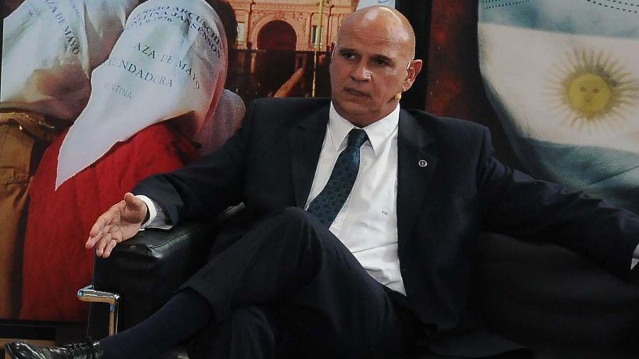 Carlos Rívolo, en la entrevista con Jorge Fontevecchia.