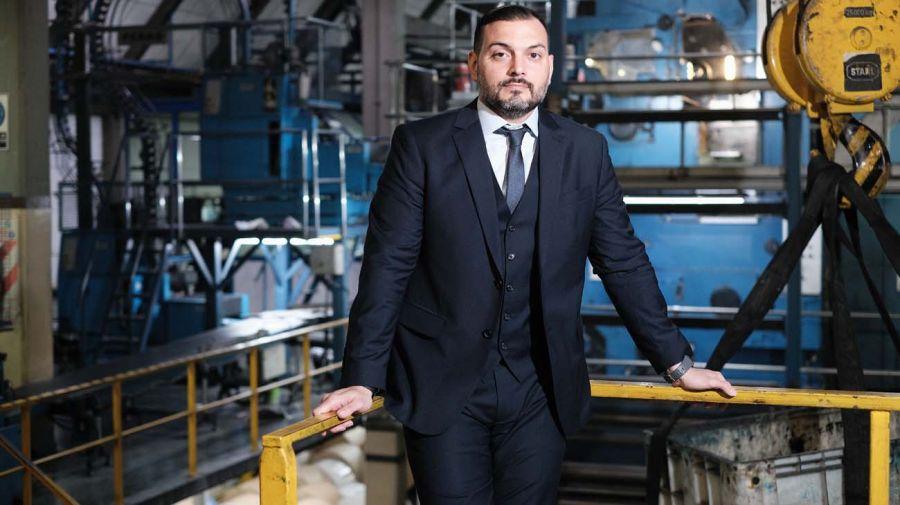 Emmanuel Álvarez Agis, en la entrevista con Jorge Fontevecchia.
