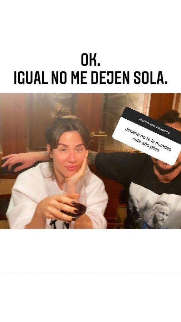 Jimena Barón subió una foto con Daniel Osvaldo
