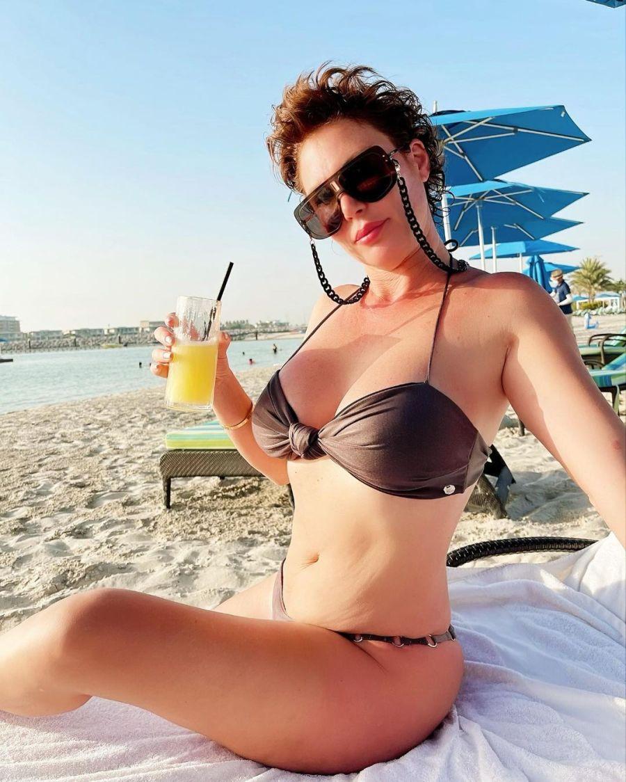 Las soñadas vacaciones de Celina Rucci y su novio en Islas Maldivas