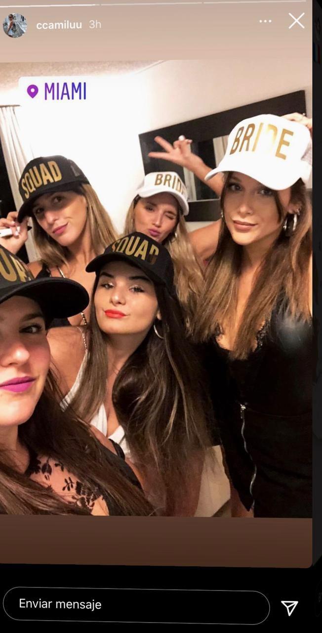 Barbie Vélez celebró su despedida de soltera en Miami