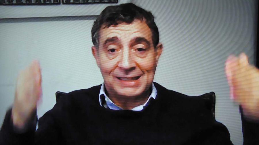 Fabián 'Pepín' Rodríguez Simón, en la entrevista con Jorge Fontevecchia.