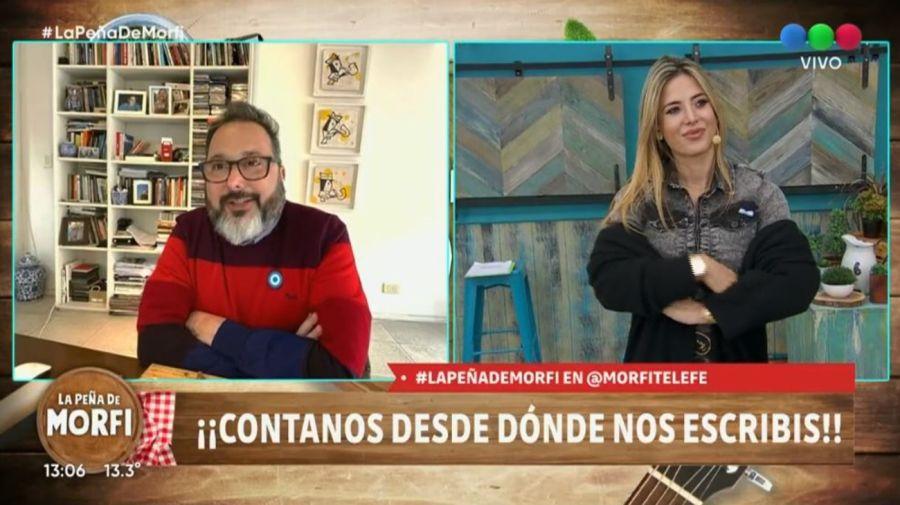 Gerardo Rozin y Jesica Cirio