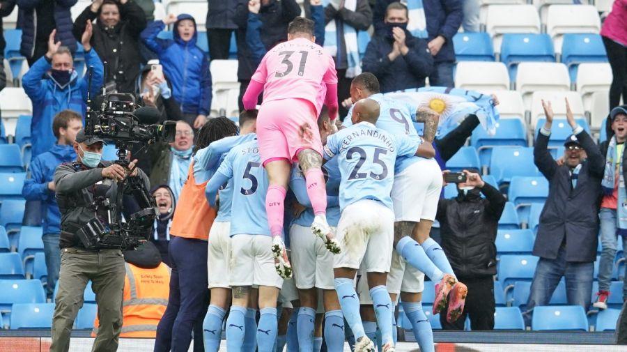 Kun Agüero despedida del Manchester City