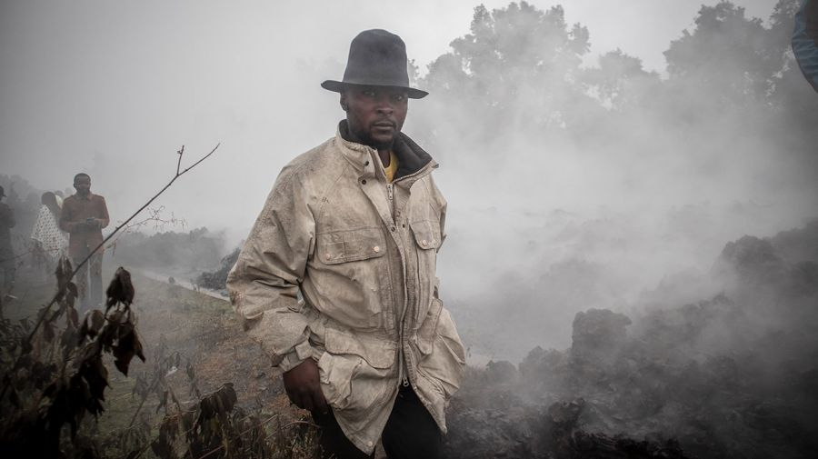 volc{an en el Congo