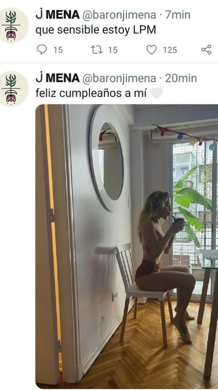 Jimena Barón sensible en eldíade su cumpleaños