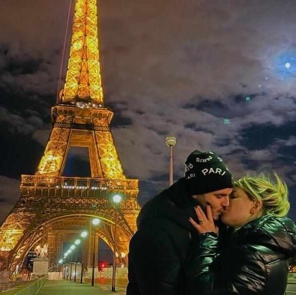 El romántico mensaje de Wanda Nara a Mauro Icardi, un día después del compromiso de Maxi López: