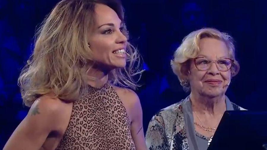 Lorena Paola y su madre