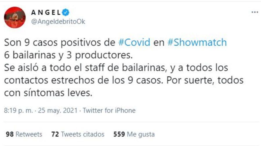 Showmatch La Academia COVID