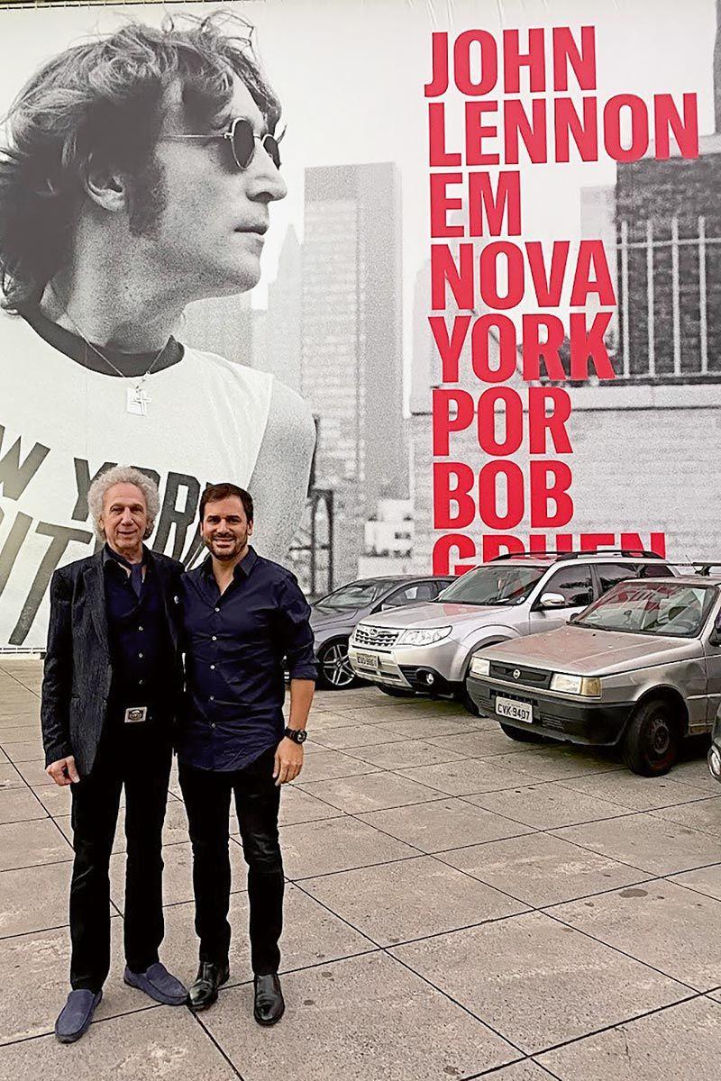 Bob Gruen y Sebastián Alderete