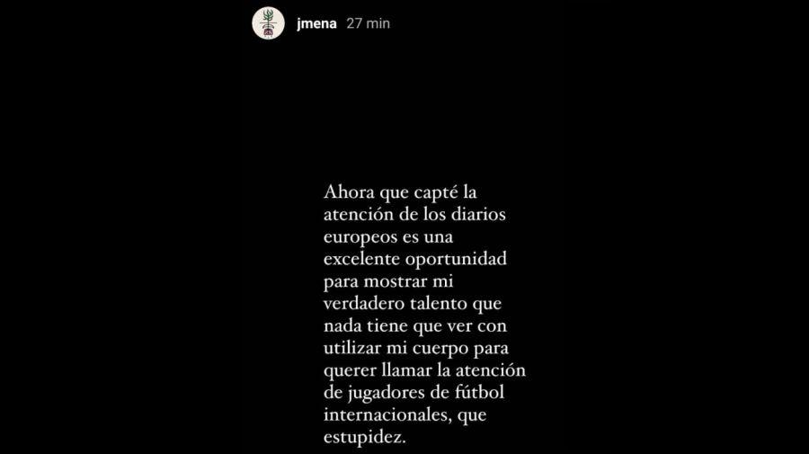 Jimena Barón historias 2605