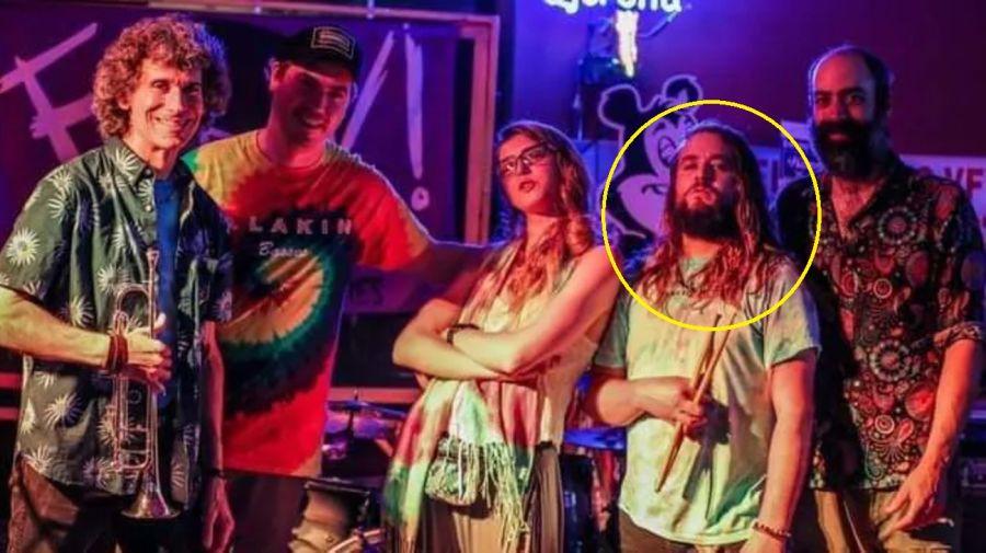 Kevin Clark y su banda
