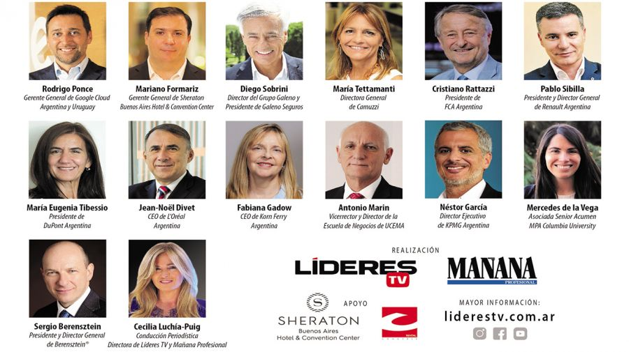 "Líderes TV Forum ""CEOS E-VOLUTION"""