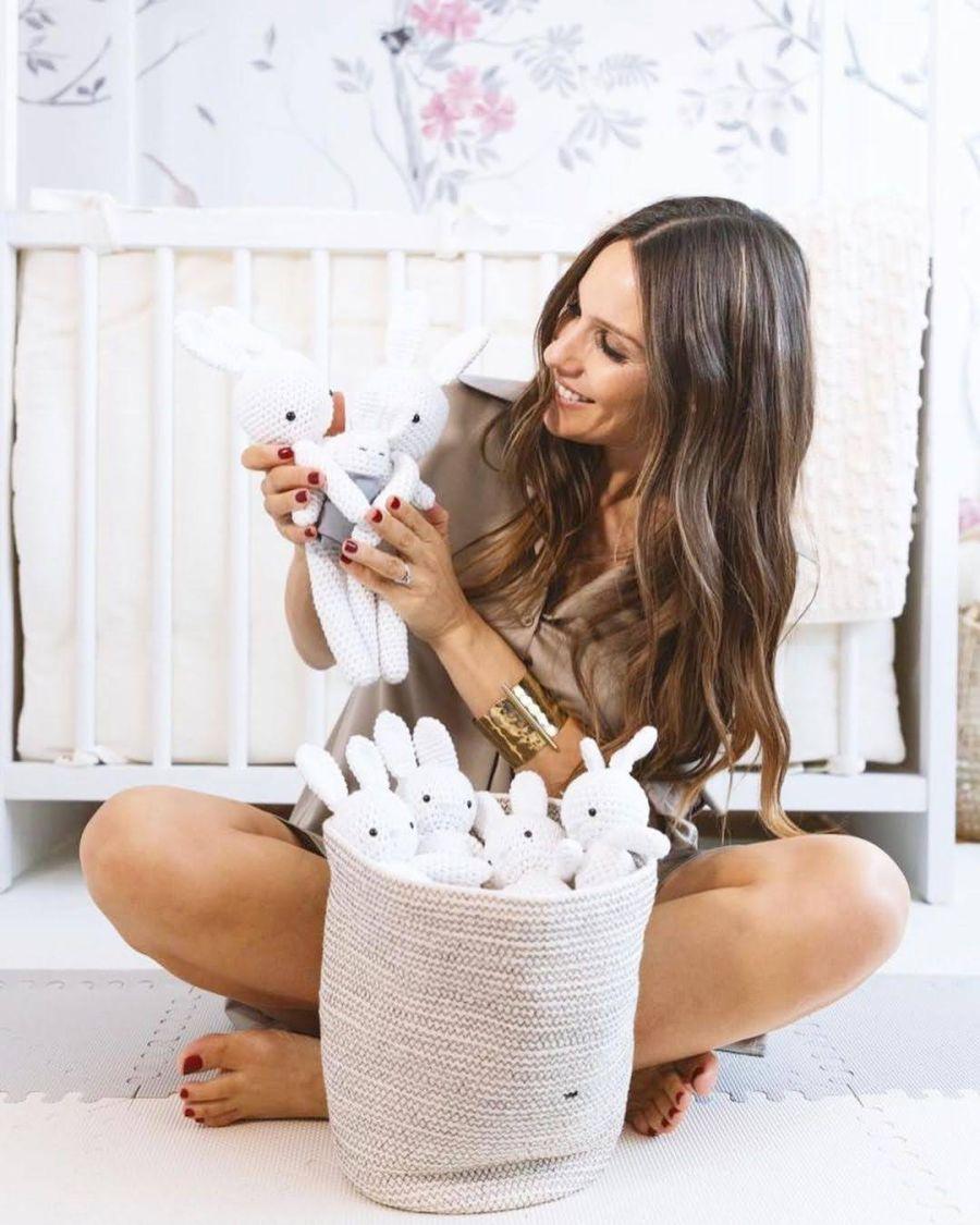 Pampita mostró cómo quedó la habitación de su bebé