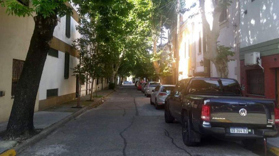Un pasaje del barrio.