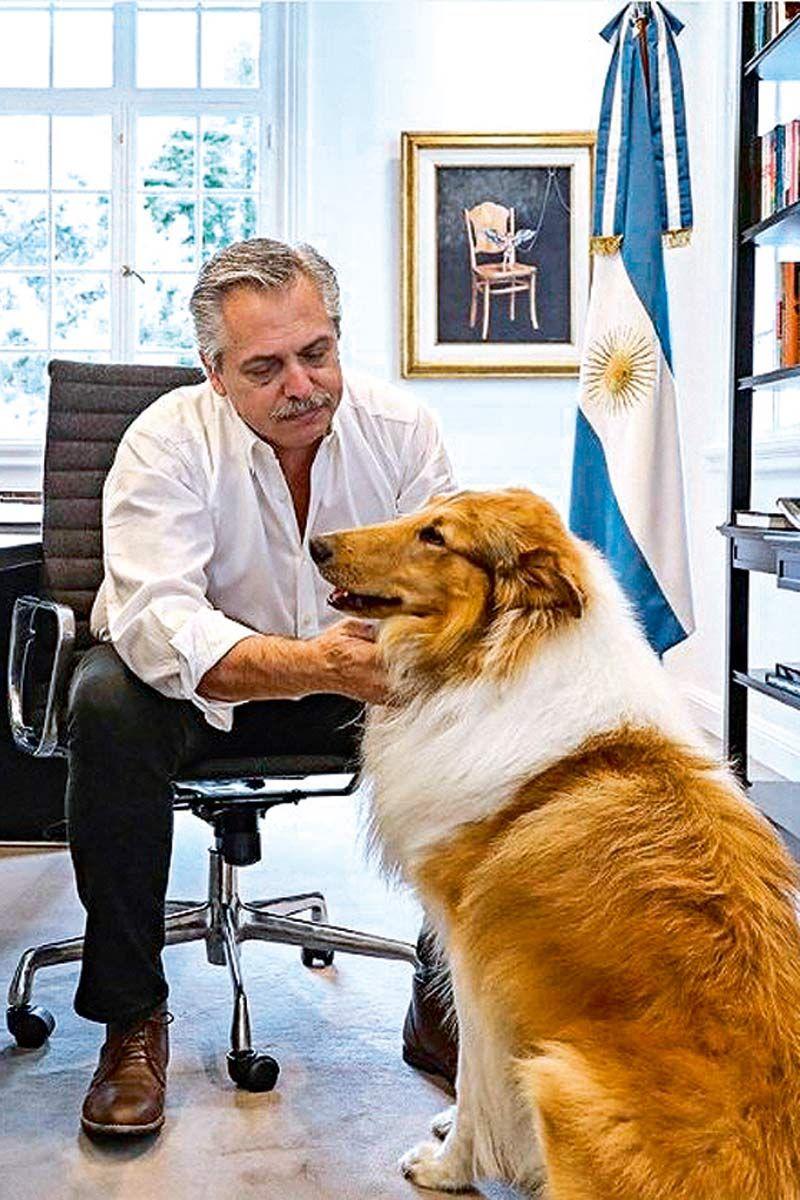 Alberto Fernández y Dylan